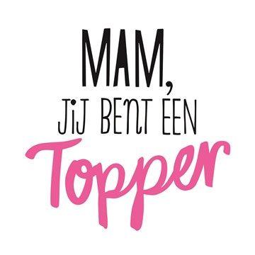 Je bent een moeder uit duizenden. Totaal onmisbaar en de spil van het gezin. Je bent meer dan een moeder: een vriendin! #hallmark #hallmarknl #moederdag #mama #mam #everything #liefde #love