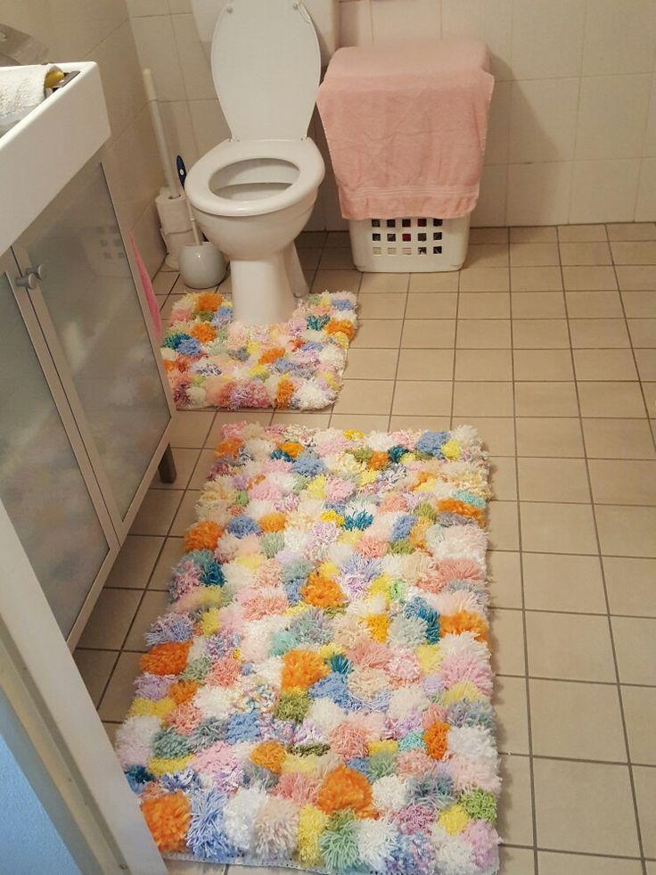 Badkamer setje  Gemaakt van pompoenetjes