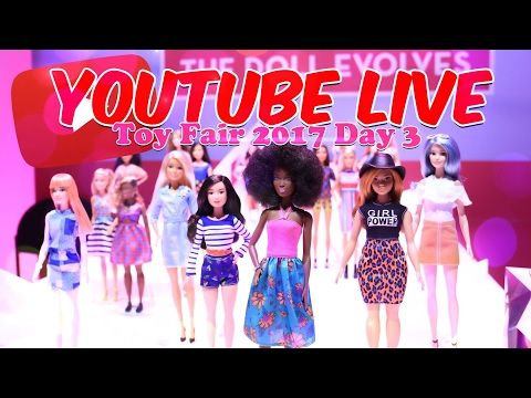 2017 New York Toy Fair LIVE from Mattel! - YouTube