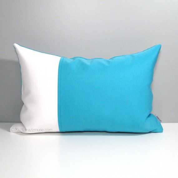 Modern Blue Outdoor Pillows : 47 best Blue - Modern Outdoor Pillows by Mazizmuse Design Co images on Pinterest Outdoor ...