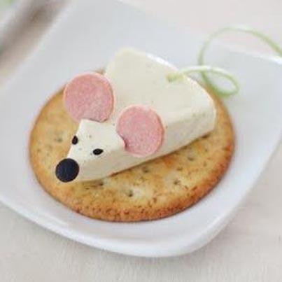 Wie sich eine Portion Käse in eine Maus verwandeln kann