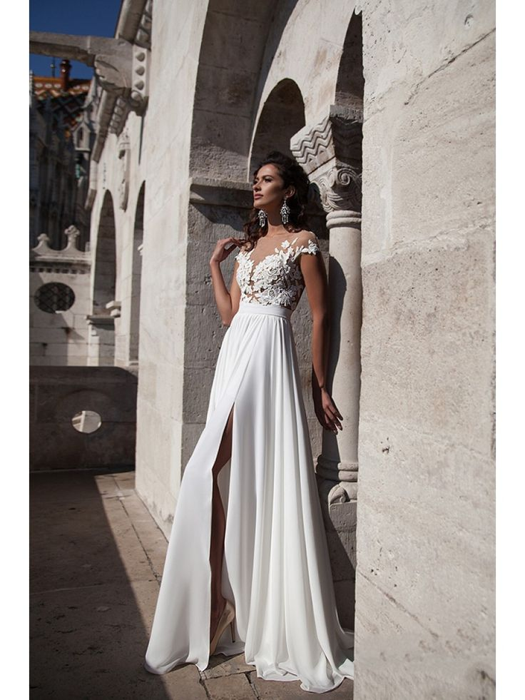 Ideas About Split Wedding Dresses Grad Long Tall Gowns And Prom Usa With That Turn Into Reception