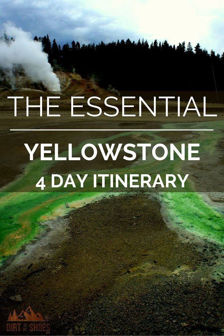 If you are planning a trip to Yellowstone National Park, make sure you bring this with you!  See all the best sights and learn the tips and tricks to avoiding the crowds, written by a former park ranger!
