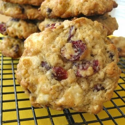 Craisin White Chocolate Oatmeal Cookies | Recipes | Pinterest
