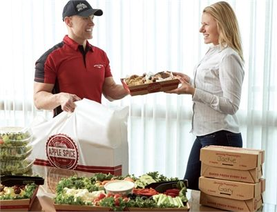 Apple Spice Box Lunch Delivery & Catering Wells Fargo Center, UT
