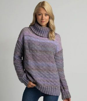 17 Best images about Knit sweaters and ponchos on Pinterest Vests, Rowan an...