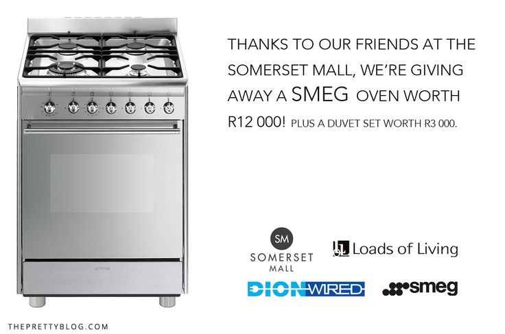 To ALL our South African followers... You could WIN a SMEG oven! Head on to the blog for entry details!