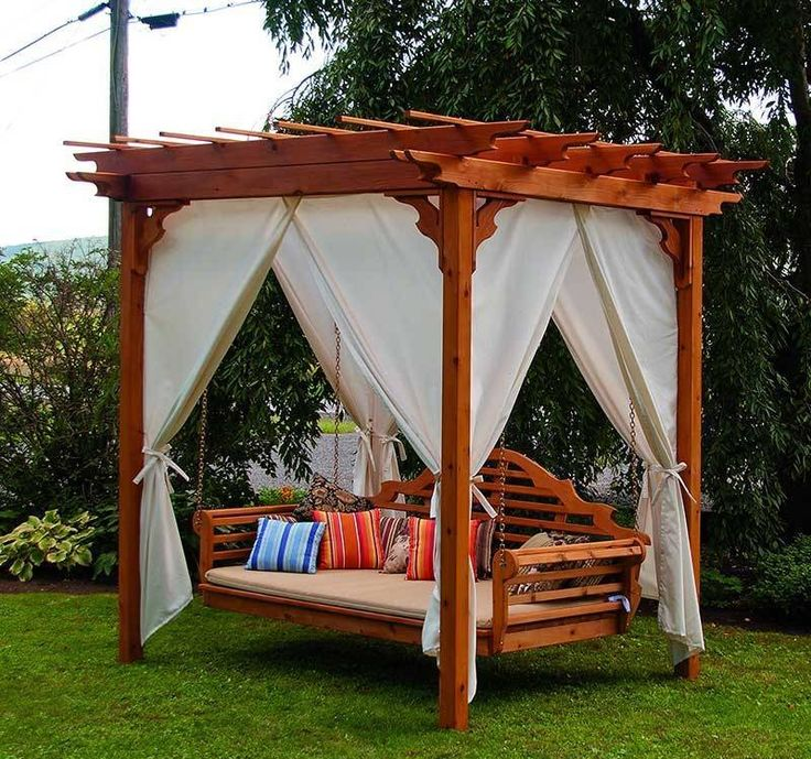 The 25 best Arbor swing ideas on Pinterest Pergola swing