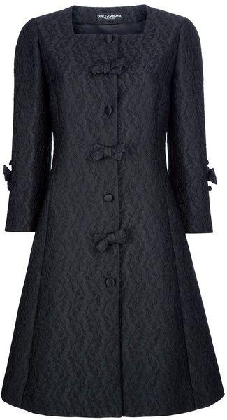 Dolce & Gabbana Flared Paisley Print Coat - Lyst