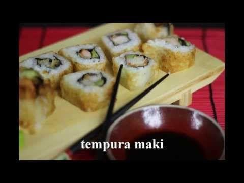 sushi tempura maki z krewetką (smażone) - YouTube