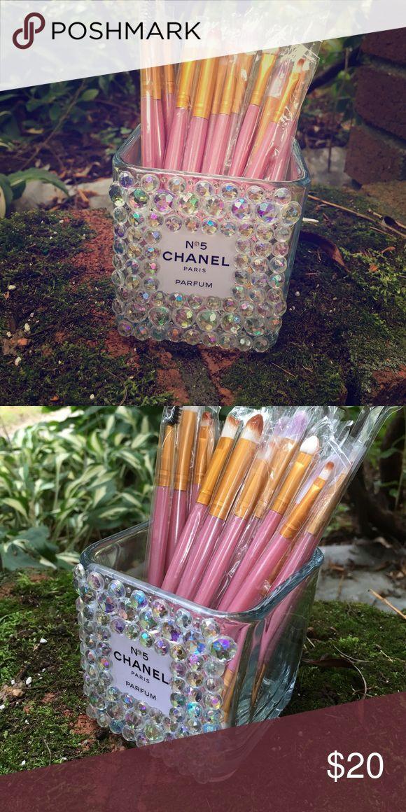 CHANEL Makeup Brush Holder 💎 Handmade Chanel Makeup Brush