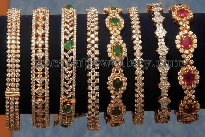 Jewellery Designs: Diamond Bangles Gallery by Kotharis