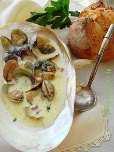 eastern shore clam chowder soup