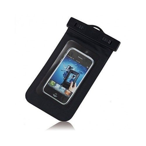 Waterproof Dry Pouch Black Bag Case Cover For All Cell Phone PDA FREE SHIPPING