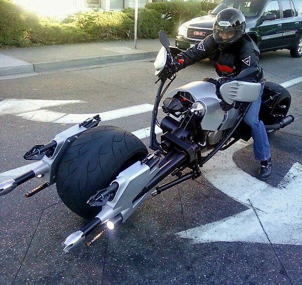 Return of Jedi inspired Speeder Motorcycle.
