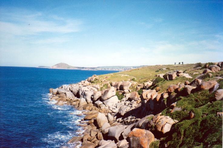 Coastal walk Port Elliot South Australia