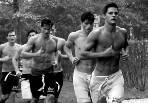 Abercrombie & Fitch Photo by Bruce Weber