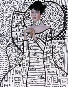 Klimt and Patterns | Art Projects for Kids | Bloglovin'