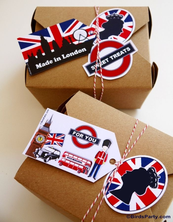 UK Inspired London themed Party