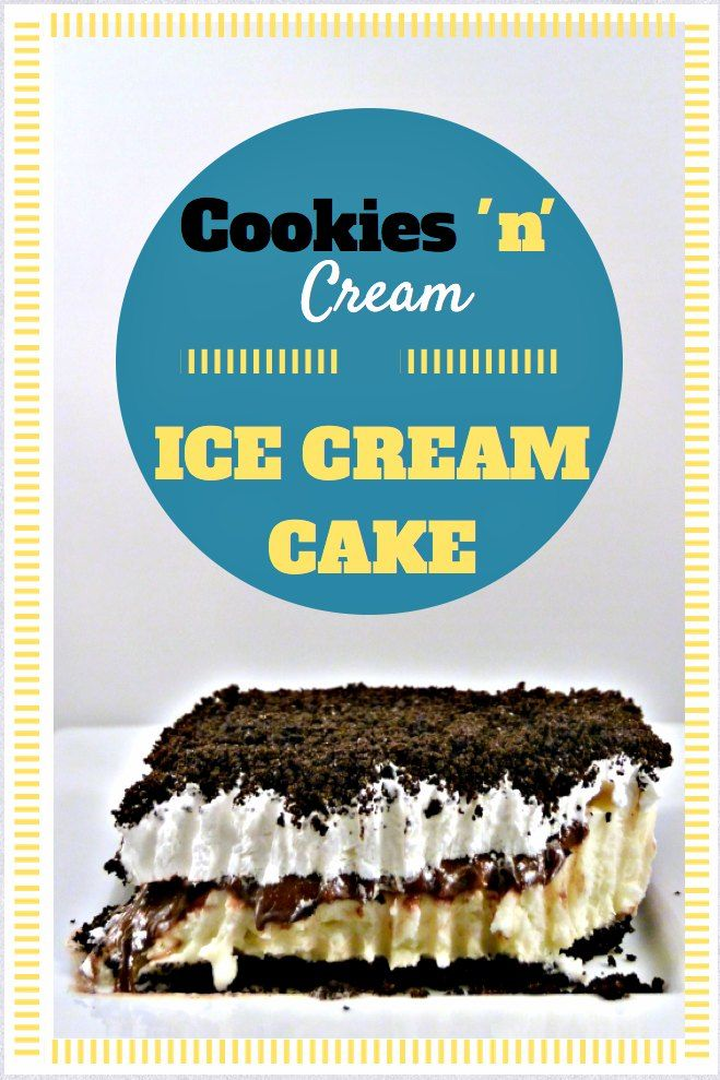 Cookies n Cream Ice Cream Cake - reminiscent of a Dairy Queen Ice Cream Cake but easier on the wallet.