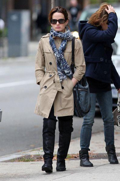 Elizabeth Reaser - Nikki Reed and Elizabeth Reaser Walk in Downtown Vancouver