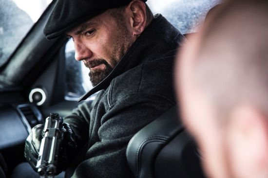 "Mr. Hinx (David Bautista) SPECTRE 2015 A hulking member of SPECTRE, Mr. Hinx rises to the occasion when someone within the criminal organization is required to kill ""The Pale King"" (Mr. White of Quantum). This puts him on the path of James Bond. How He Dies: During a grueling brawl with 007 aboard a train speeding through the North African night, a chain is wrapped around Mr. Hinx's neck. When the barrel to which said chain is attached flies off the train, so does Mr. Hinx."