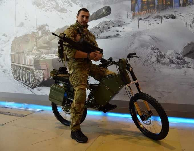 Russia's Army & Police Will Soon Be Riding Tactical Electric Bikes  ... see more at InventorSpot.com