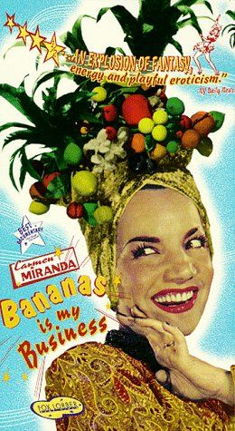 Carmen Miranda Brazilian hats! I love them:D
