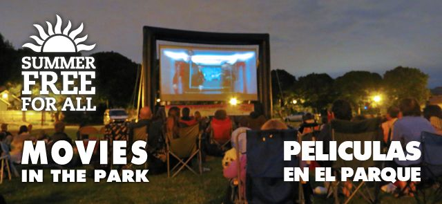 Free Summer movies in parks, Portland, OR