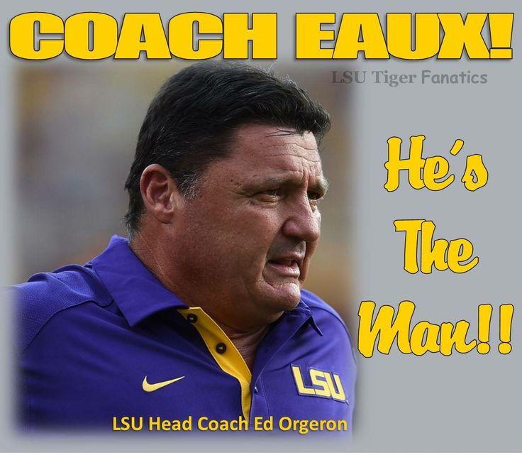Coach O new LSU FOOTBALL COACH 2016