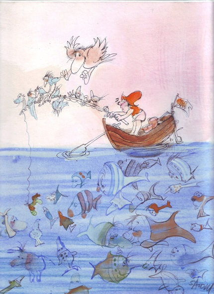 Sajdik Ferenc: A nagy Hoho horgász