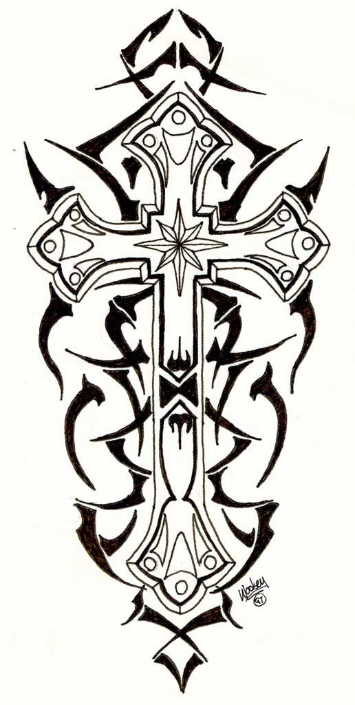 118 best images about tattoos on pinterest tribal cross tattoos skull drawings and tribal designs. Black Bedroom Furniture Sets. Home Design Ideas