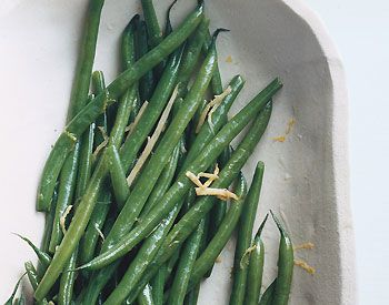 Find the recipe for Green Beans with Ginger Butter and other ginger ...