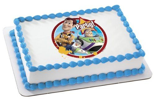 TOY STORY 3 BUZZ LIGHTYEAR WOODY COWBOY JESSE ANDY Edible Image FROSTING SHEET Cake Topper ** Read more  at the image link. (This is an Amazon affiliate link)