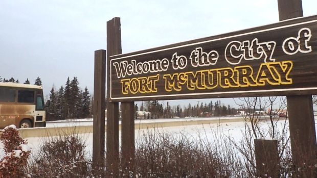 Fort McMurray is feeling the effect of weak oil prices, even though the region is producing record amounts of oil.