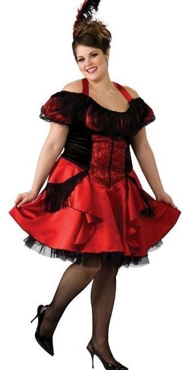 Burlesque fancy dress costumes plus size