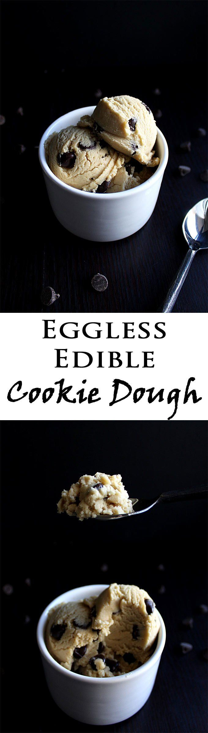 Edible Cookie Dough | Easy Cookie Dough Recipe | Edible | Eggless | Chocolate Chip Cookie Dough