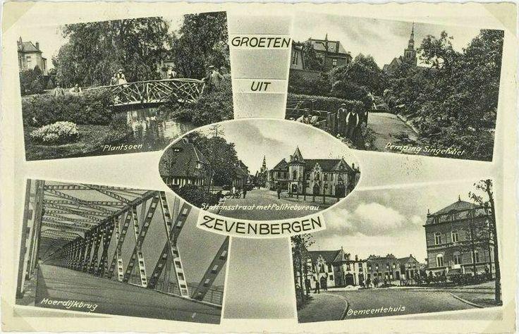 Groeten uit Zevenbergen 1939