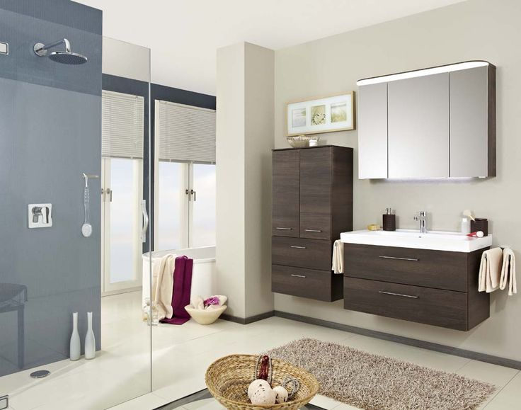 Pineo German Bathroom   this range from Pelipal offers all the storage  space you could need  with deep pull out drawers and LED lit cabinetry  In  a squarer. 17 Best images about Pelipal Bathrooms on Pinterest   Contemporary
