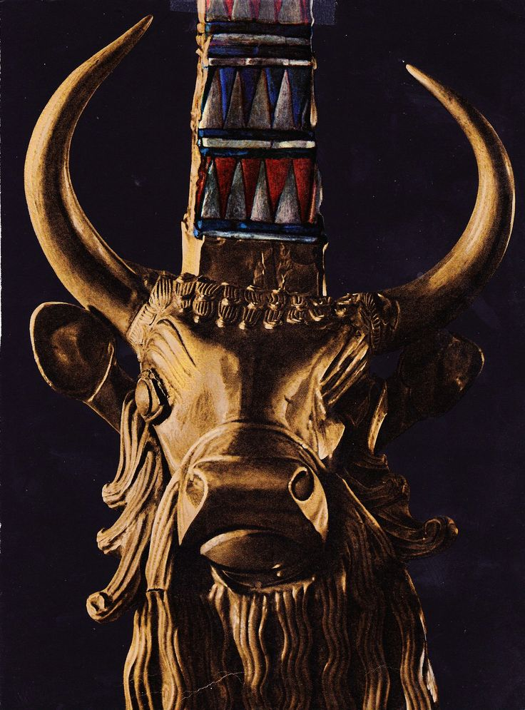 The bull on the Lyre of Ur