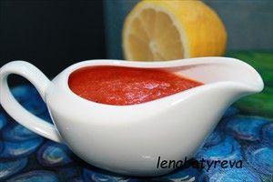 Фото рецепта «Красный соус из перцев»