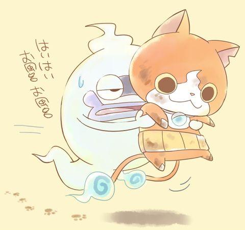 Yo-kai Watch   Whisper and Jibanyan