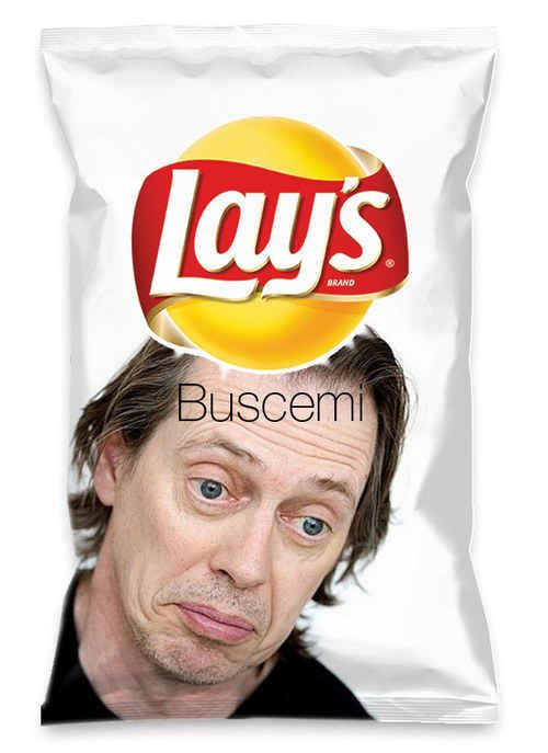 This must-have Lay's flavor. | 24 Times The Internet Professed Its Love For Steve Buscemi
