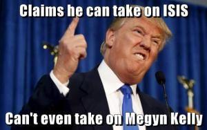 Funny Memes Skewering the 2016 GOP Candidates: Donald Trump vs Megyn Kelly