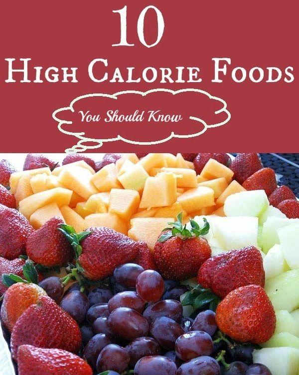 Top 10 High Calorie Foods
