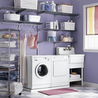 Ordning och reda i tvättstugan