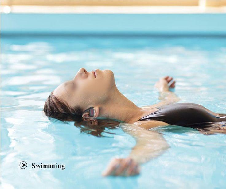 Dacom P10 Sport Swim IPX7 Waterproof Ear-hook Wireless Bluetooth Headphone Earphone