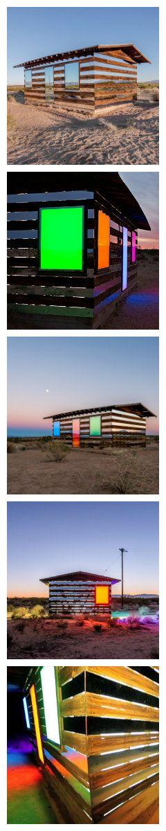 Зеркала на фермерском домике создают эффект прозрачного здания
