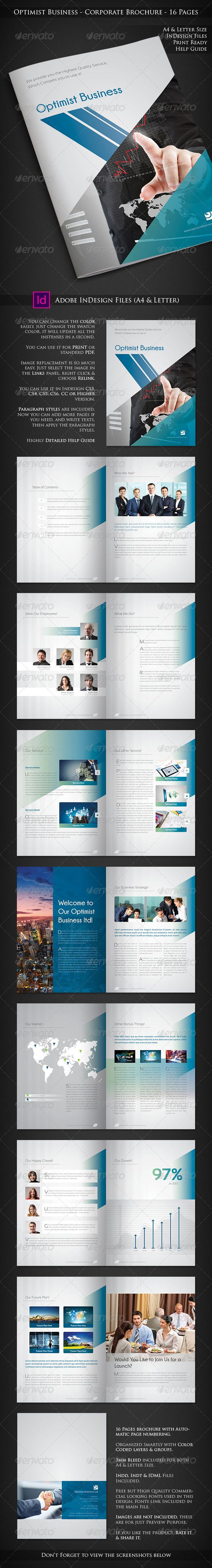 Optimist Business - Corporate Brochure ... abstract, abstract brochure, blue, booklet, brochure, business, business brochure, colorful brochure, company, company brochure, company profile, corporate, cyan, design, infographic, marketing, marketing brochure, profile, red, sales, sales graph, sexy, shape, stylish