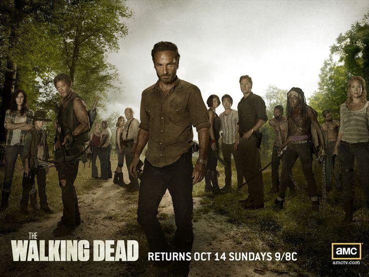Wallpaper Eroii Din The Walking Dead